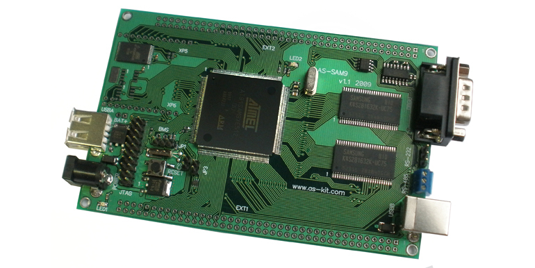 Плата AS-sam9 на микропроцессоре Atmel AT91SAM9260